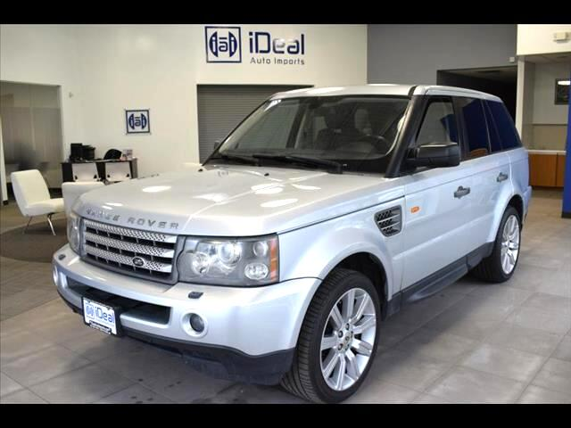 2008 Land Rover Range Rover Sport SUPERCHARGED NAVIGATION TOW