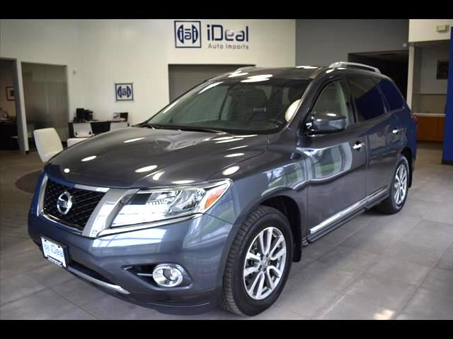 2014 Nissan Pathfinder SL BACKUP CAM HEATED LEATHER