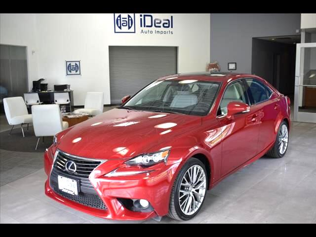 2014 Lexus IS 250 AWD BLIND SPOT NAVIGATION