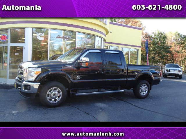 2014 Ford F-250 SD DIESEL LARIAT CREW CAB 4WD POWERSTROKE NAV ROOF