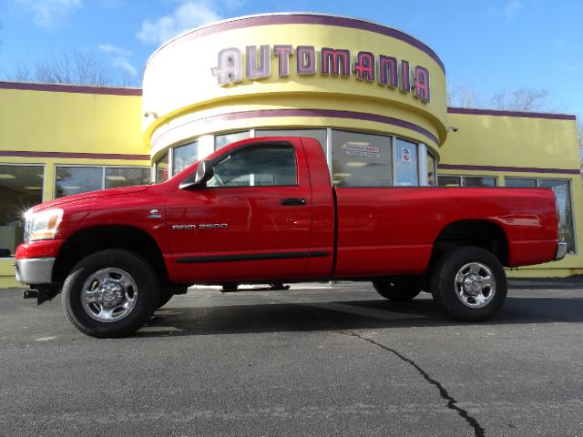 used 2006 dodge ram 2500 diesel reg cab slt cummins trucks for sale in hooksett nh ma vt me ct. Black Bedroom Furniture Sets. Home Design Ideas