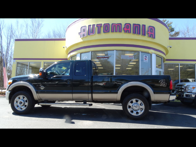 2012 Ford F-350 SD DIESEL LARIAT SUPERCAB 8FT BED 4WD POWERSRTOKE