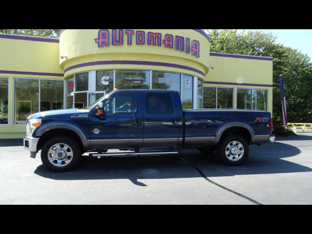 2013 Ford F-350 SD DIESEL LARIAT CREW 4WD 8FT BD POWERSTROKE