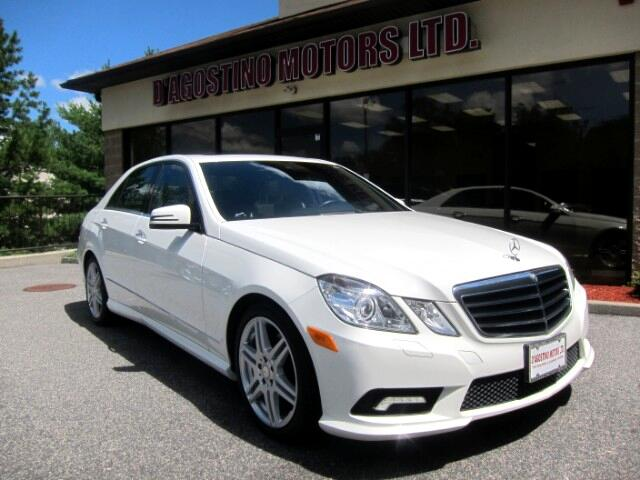 2010 Mercedes-Benz E-Class E350 Sedan 4Matic Sport