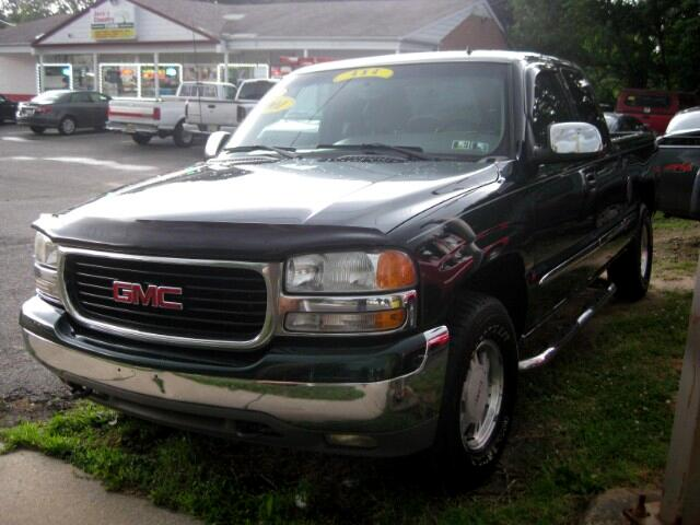 2001 GMC Sierra 1500 SLT EXT. CAB SHORT BED 4WD