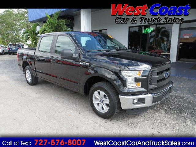 2015 Ford F-150 XL SuperCrew 5.5-ft. Bed RWD F150 Truck