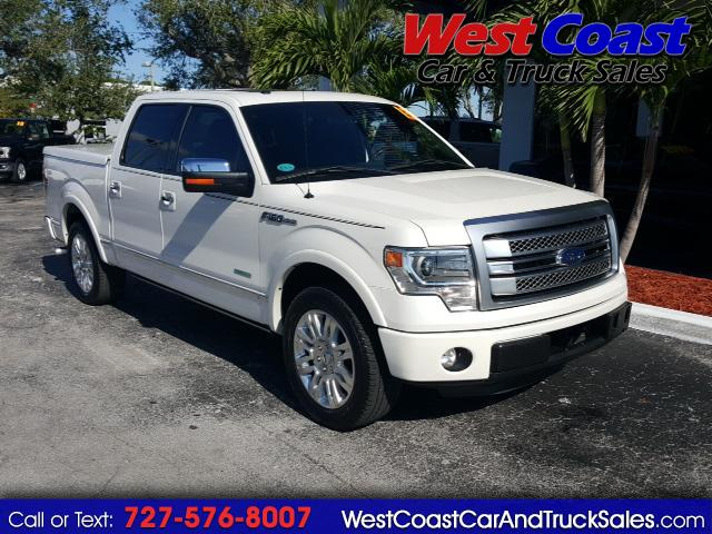 "2013 Ford F-150 2WD SuperCrew 145"" Platinum F150 Truck"