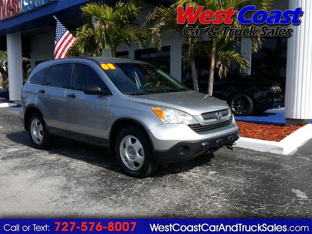 2008 Honda CR-V LX 2WD RV TOWABLE