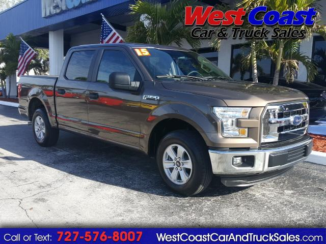 "2015 Ford F-150 2WD SuperCab 145"" XL F150 Truck"