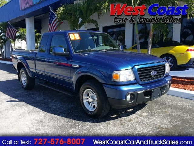 2008 Ford Ranger Sport SuperCab 2WD Truck