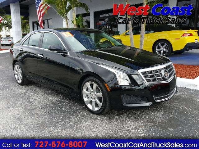 2013 Cadillac ATS Sedan 2.0 L Luxury RWD