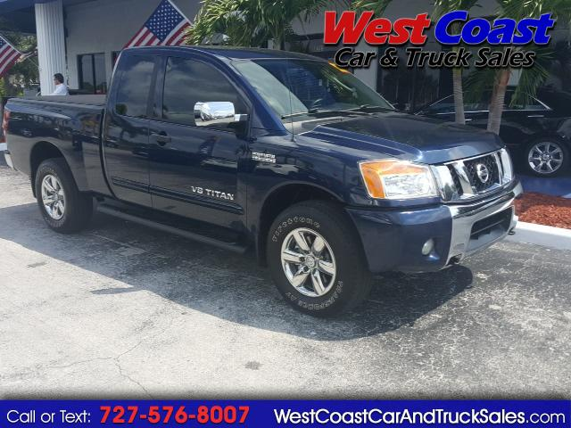 2011 Nissan Titan 4x4 King Cab SV Heavy Metal Chrome
