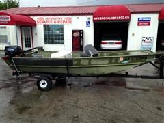 1975 John Boat Bass Boat