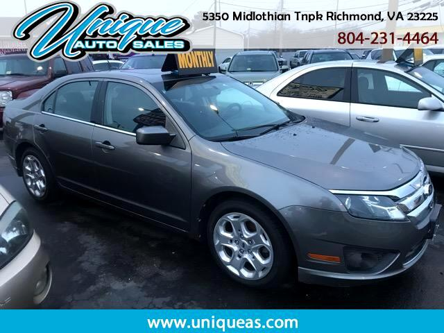 2010 Ford Fusion 4dr Sdn S FWD