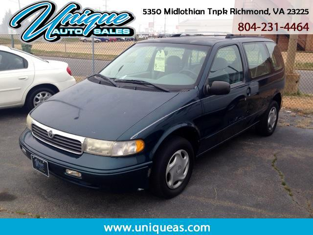 1998 Mercury Villager Nautica