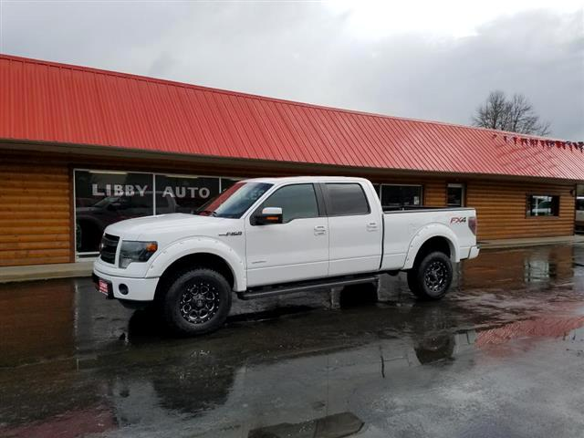 "2013 Ford F-150 4WD SuperCrew 157"" FX4"