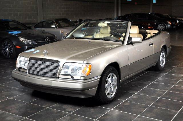 used 1995 mercedes benz e class e320 cabriolet for sale in pipersville pa 18947 import 1 motorsport. Black Bedroom Furniture Sets. Home Design Ideas