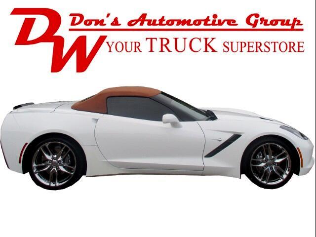 2014 Chevrolet Corvette Stingray 2LT Convertible