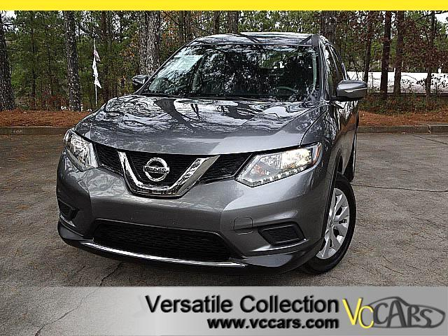 2015 Nissan Rogue S AWD DRIVER ASSIST PACKAGE with LEATHER SEATS