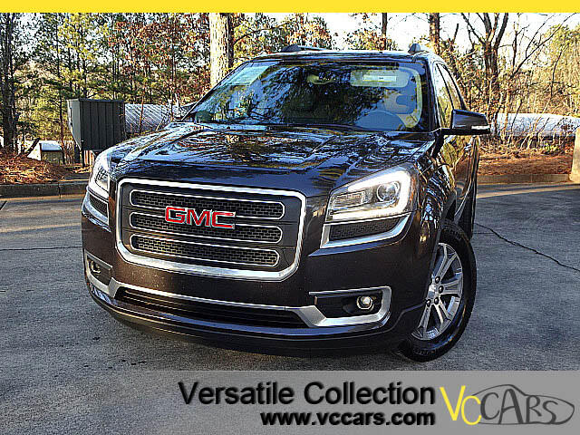 2013 GMC Acadia SLT 2 TECH PACKAGE - BROWN LEATHER - NAVIGATION SYSTEM - BLIND SPOT MONITORS - HEAT