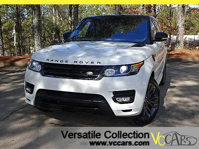 2016 Land Rover Range Rover Sport HSE Supercharged with HST Sports Lux Package