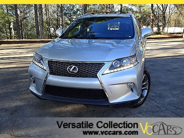2013 Lexus RX 350 F Sports Tech Navigation Blind Spot Monitors