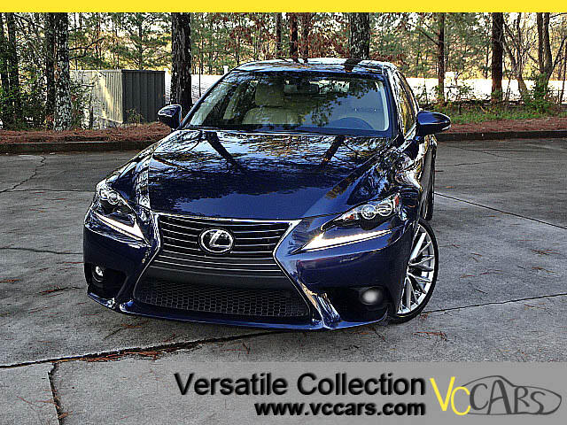 2015 Lexus IS Luxury Package with Blind Spot Monitors