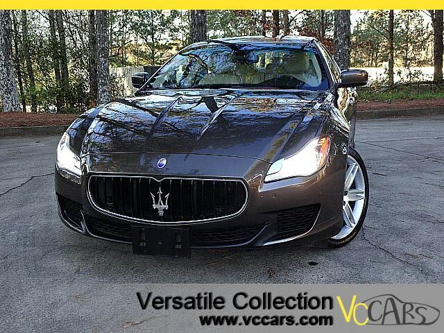 2014 Maserati Quattroporte S Q4 with LUXURY PACKAGE