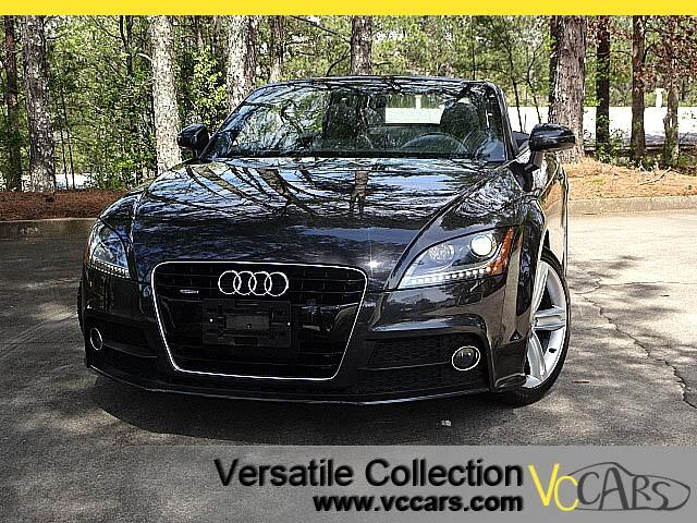 2015 Audi TT S LINE - 20T QUARTTRO PREMIUM PLUS PACKAGE WITH NAVIGATION SYSTEM - LEATHER - HEATED