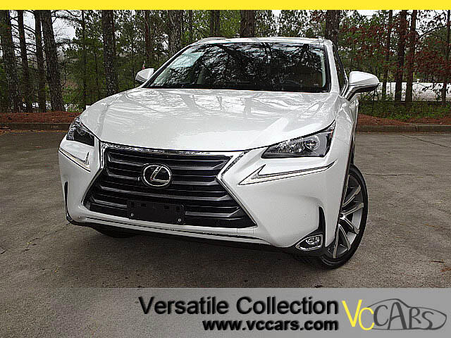 2015 Lexus NX 200t Premium Tech Navigation Blind Spot Monitors