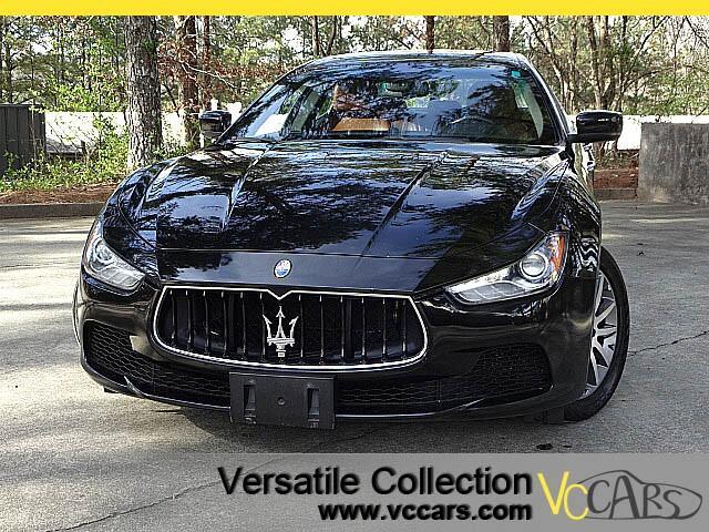2014 Maserati Ghibli S Q4 Luxury Technology Package