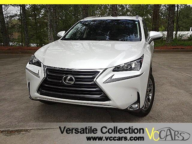 2015 Lexus NX 200t Premium Plus Tech Navigation Blind Spot Monitors