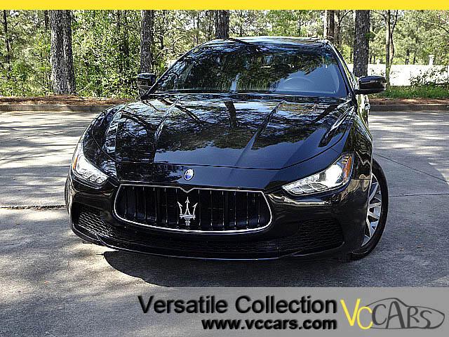 2014 Maserati Ghibli S Q4 Luxury Tech Navigation
