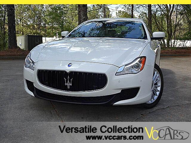 2014 Maserati Quattroporte S Q4 with Luxury Tech Package