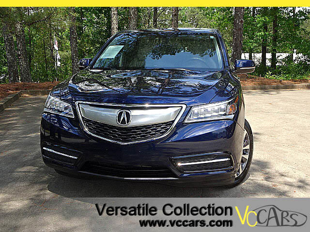 2016 Acura MDX SH AWD TECHNOLOGY PACKAGE with NAVIGATION SYSTEM - BLIND SPOT MONITORS - LDW LANE DE