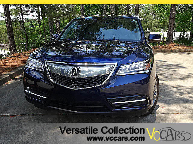 2014 Acura MDX SH AWD TECHNOLOGY PACKAGE with NAVIGATION SYSTEM - BLIND SPOT MONITORS - LDW LANE DE
