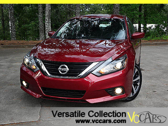 2016 Nissan Altima SR SPORTS PACKAGE with BACK UP CAMERA - PEDAL SHIFTS - POWER SEAT - SHARP WHEELS
