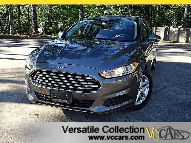 2014 Ford Fusion SE TECH PACKAGE WITH SUNROOF CAMERA XM BT