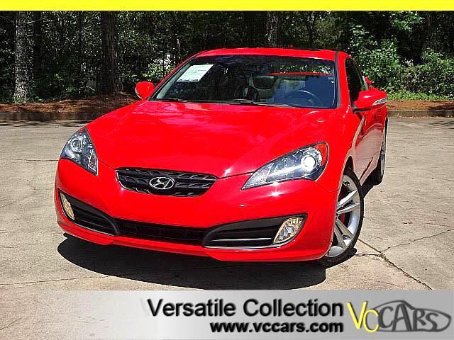 2012 Hyundai Genesis Coupe 3.8 Grand Touring Tech Navigation Leather