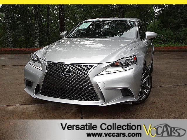 2015 Lexus IS F SPORTS TECH NAVIGATION BLIND SPOT XM CAMERA