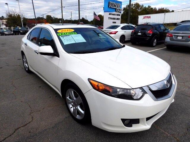 2010 Acura TSX 4dr Sdn AT