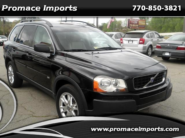 used 2004 volvo xc90 for sale in marietta ga 30060 promace imports. Black Bedroom Furniture Sets. Home Design Ideas