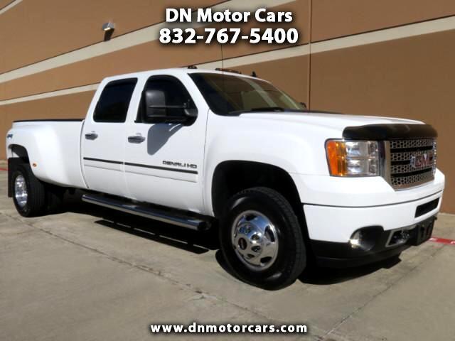2013 GMC Sierra 3500HD Denali Crew Cab Diesel 4wd DRW