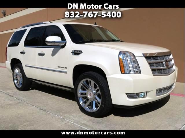 2012 Cadillac Escalade Platinum 2WD