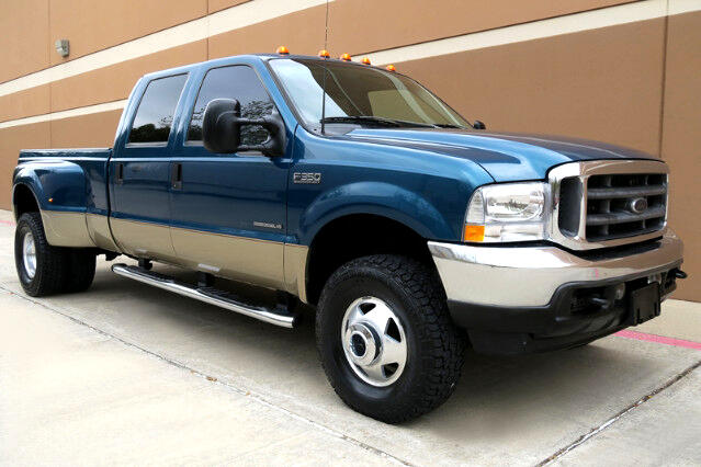 used 2001 ford f 350 sd lariat crew cab long bed 4wd drw for sale in houston tx 77025 dn motor cars. Black Bedroom Furniture Sets. Home Design Ideas