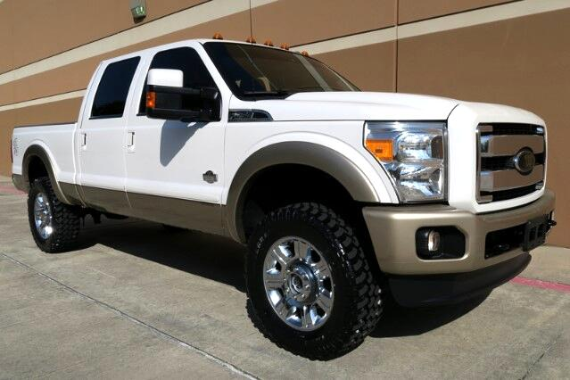 2013 Ford F-250 SD King Ranch Crew Cab Short Bed 4WD