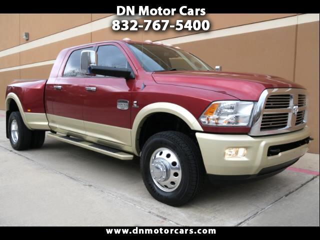 2012 Dodge Ram 3500 Laramie Longhorn Edition Mega Cab 4WD DRW
