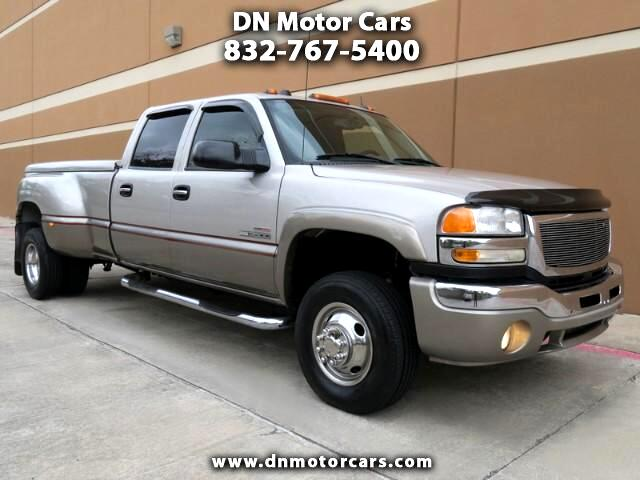 used 2005 gmc sierra 3500 slt crew cab dually long bed 4wd for sale in houston tx 77025 dn motor. Black Bedroom Furniture Sets. Home Design Ideas