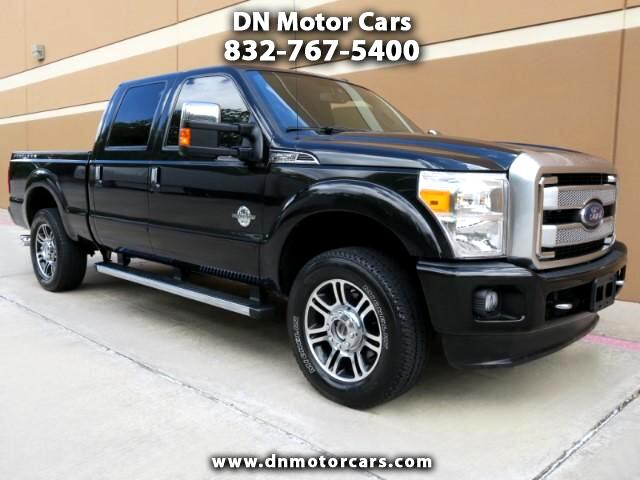2013 Ford F-250 SD Platinum Crew Cab Short Bed