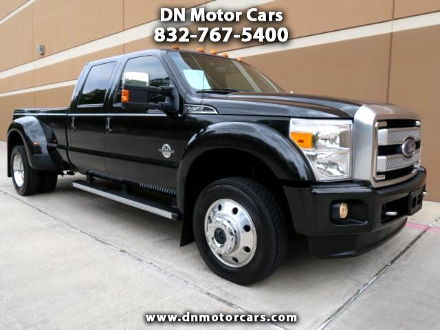 2015 Ford F-450 SD Platinum Crew Cab DRW Long Bed 4WD
